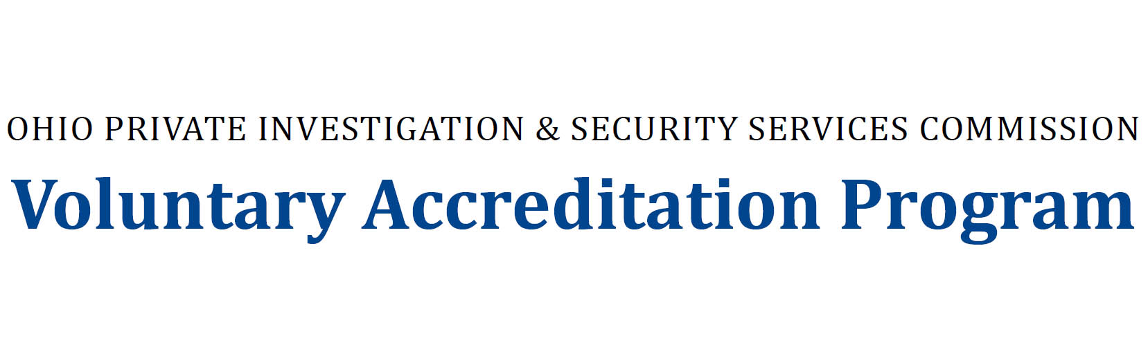Voluntary Accreditation Program